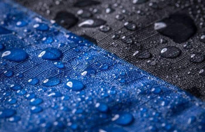 can you dye waterproof fabrics