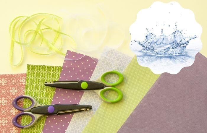 how to waterproof paper