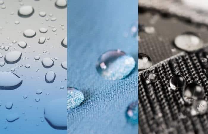 waterproof vs water repellent vs water resistant