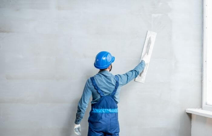 is plaster waterproof