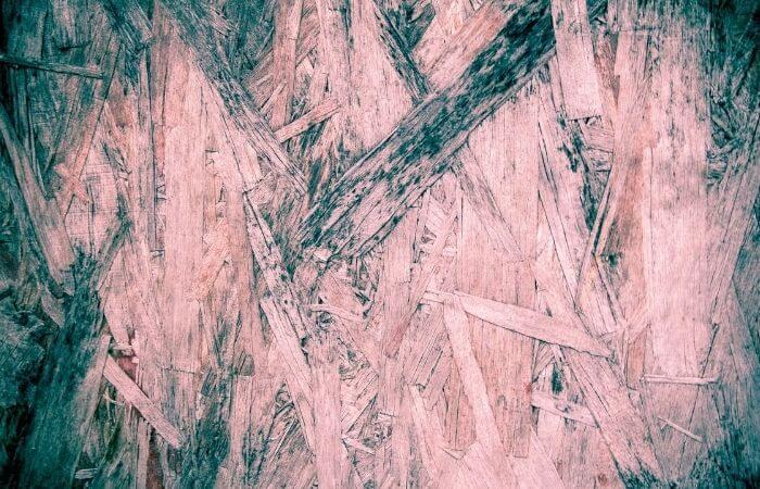 rain damaged plywood