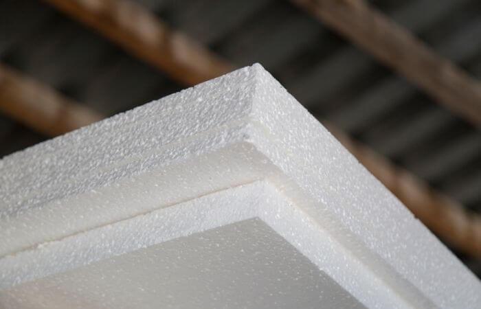 styrofoam panels