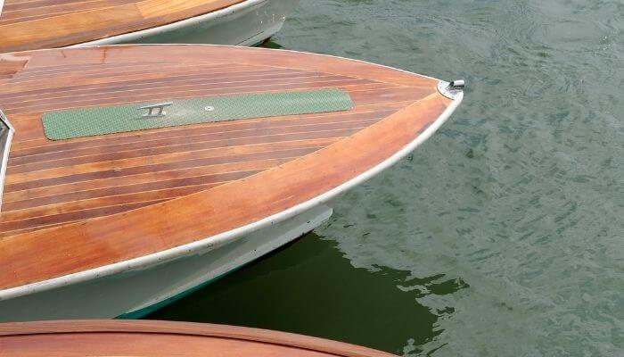 boat made with marine plywood