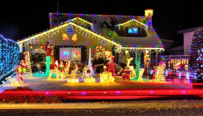 how to waterproof christmas light connections