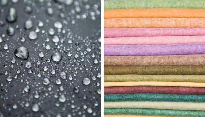 how to waterproof felt