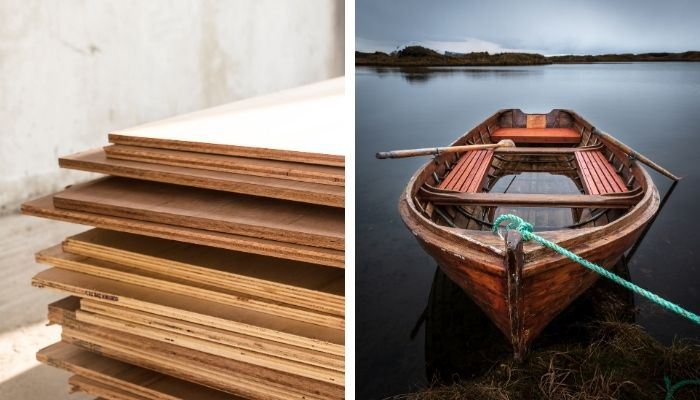 how to waterproof plywood for a boat