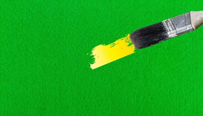 paint to waterproof felt