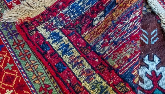 underside of rug