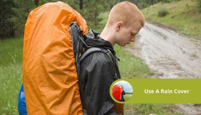 use a rain cover