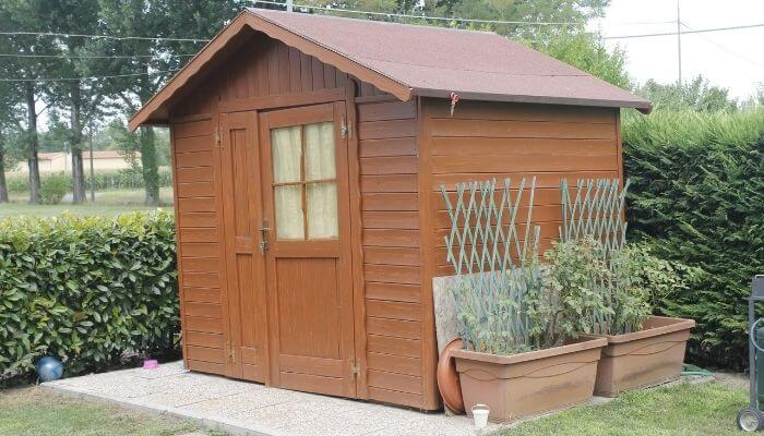 dampproof shed