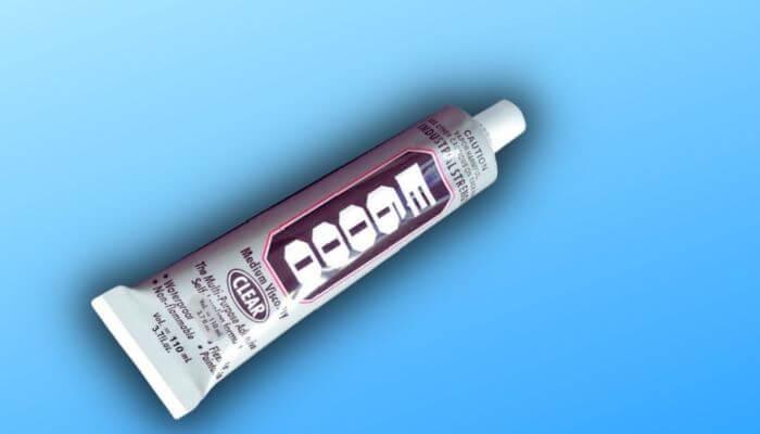 is E6000 waterproof