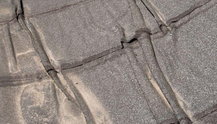 roofing felt degrading