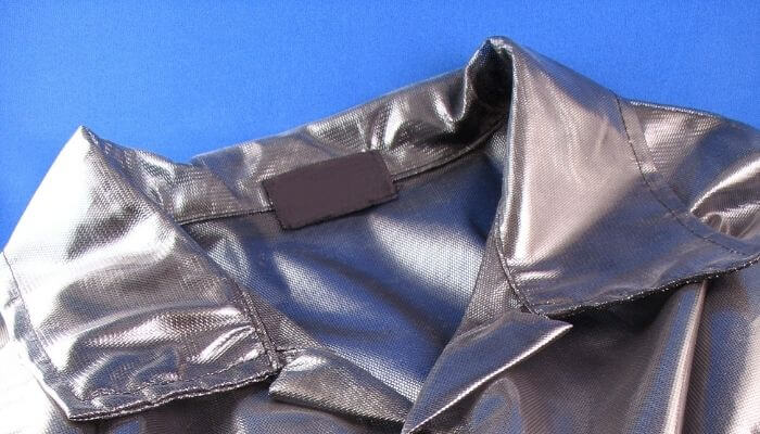 shiny polyester jacket